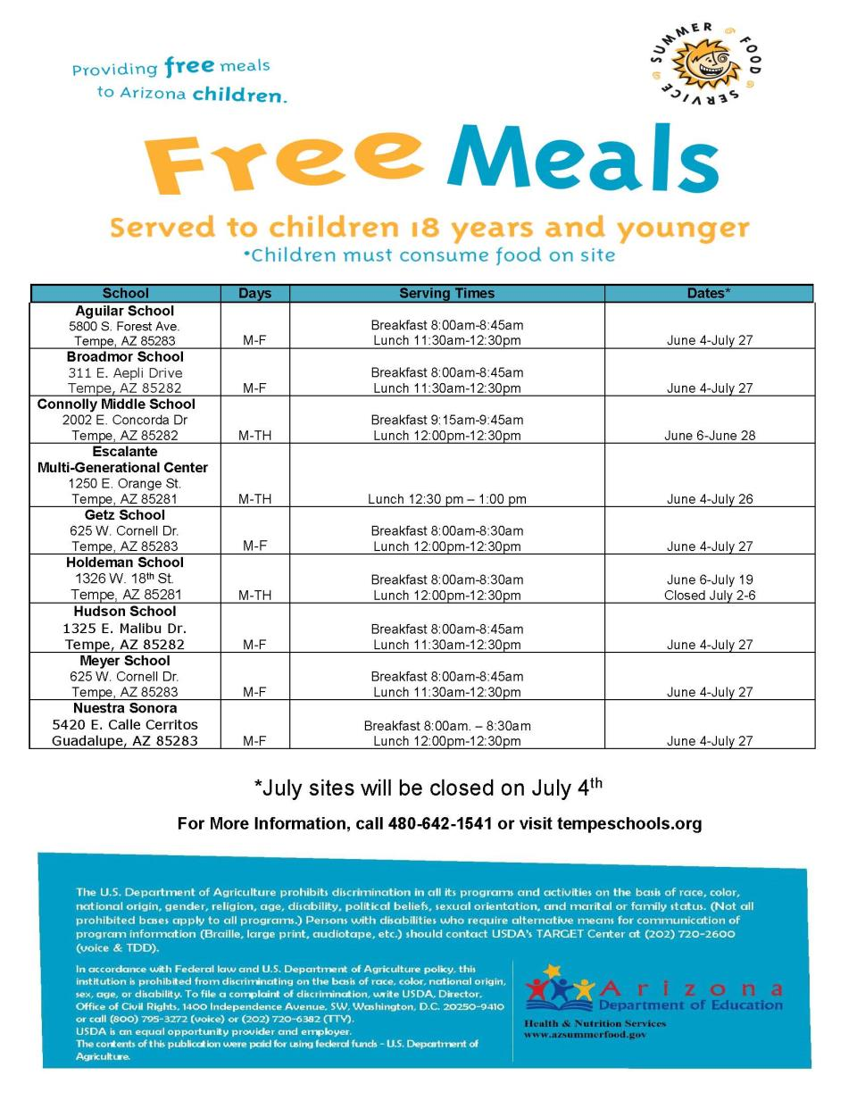 Summer Food Program Flyer 2018 Marketing_Page_1
