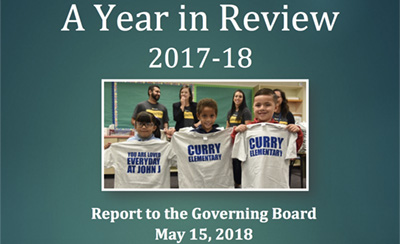 YearInReview_2017-2018 Three Kids Holding up T-Shirts