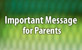 Important Message for Parents Thumbnail