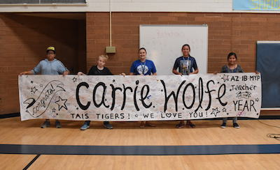 Carrie Wolfe Banner